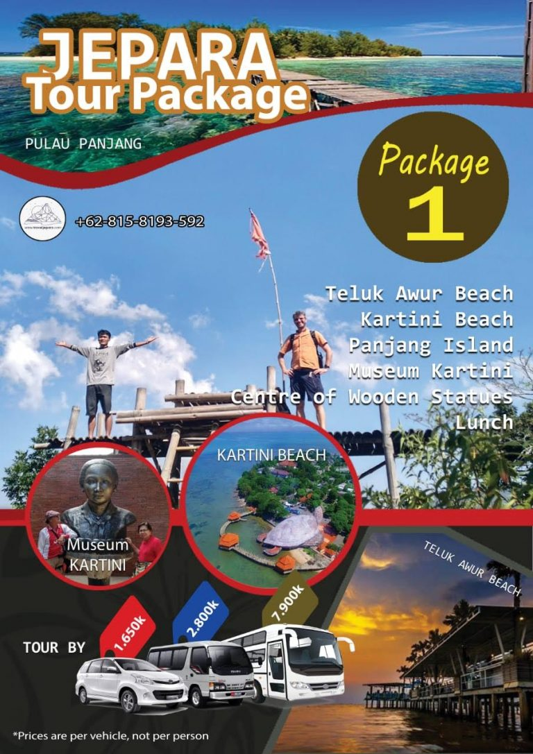 Jepara Tour Package 1